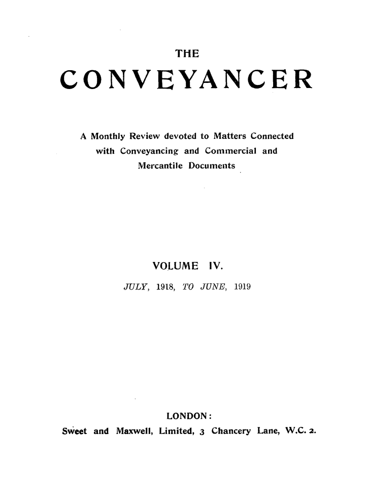 handle is hein.journals/convplr4 and id is 1 raw text is: THE