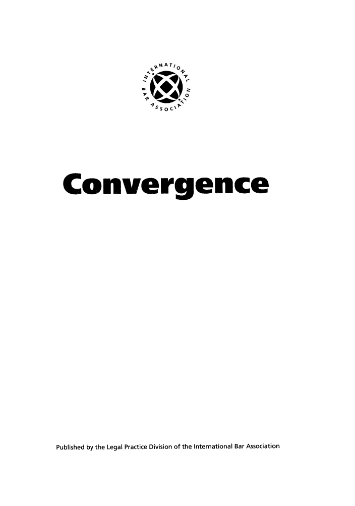 handle is hein.journals/convrg4 and id is 1 raw text is: nt  A Te 0