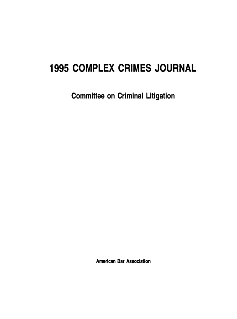handle is hein.journals/cplxrimj1995 and id is 1 raw text is: 