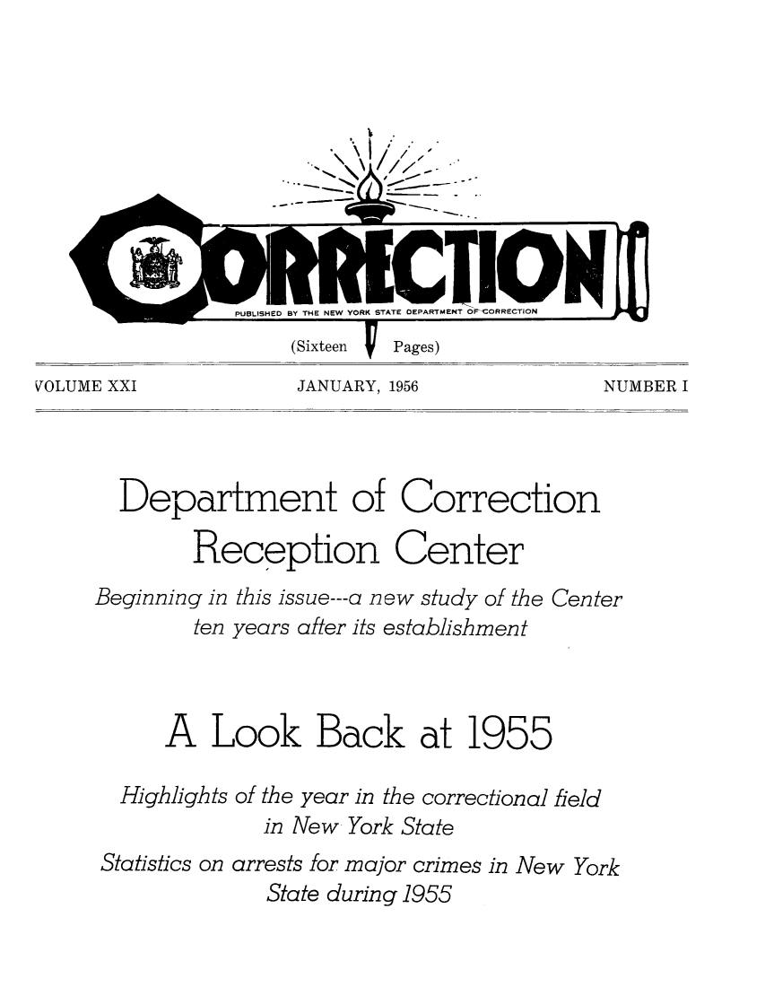 handle is hein.journals/crecton21 and id is 1 raw text is: VOLUME XXI           JANUARY, 1956            NUMBER I