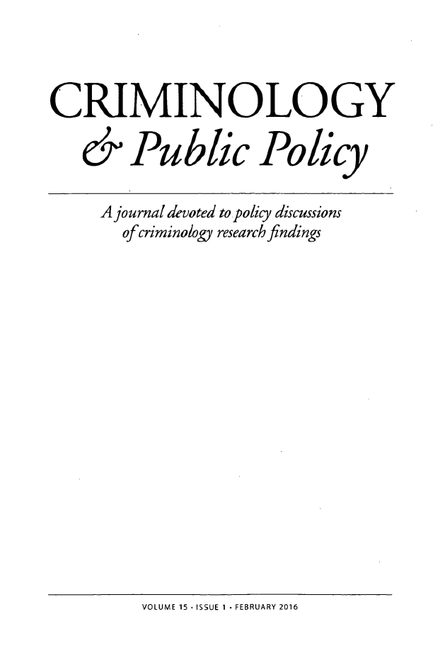handle is hein.journals/crpp15 and id is 1 raw text is: 