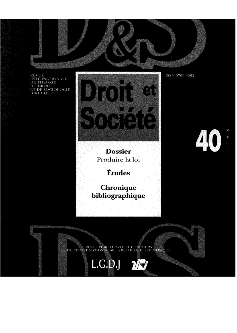 handle is hein.journals/droitsc40 and id is 1 raw text is: 