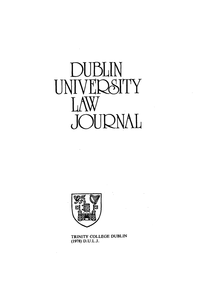 handle is hein.journals/dubulj2 and id is 1 raw text is: 