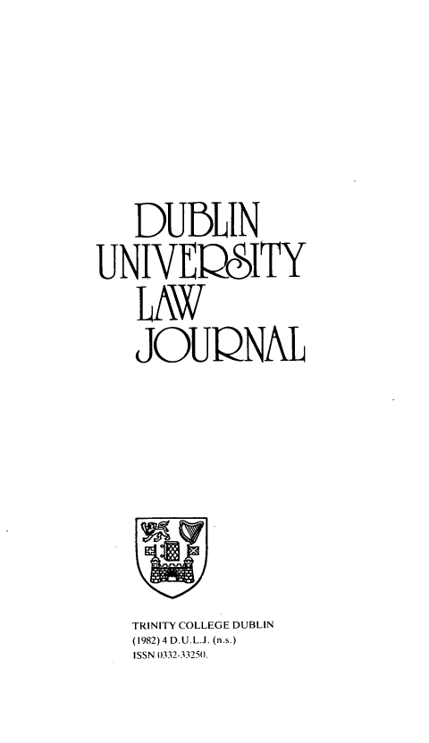 handle is hein.journals/dubulj4 and id is 1 raw text is: 