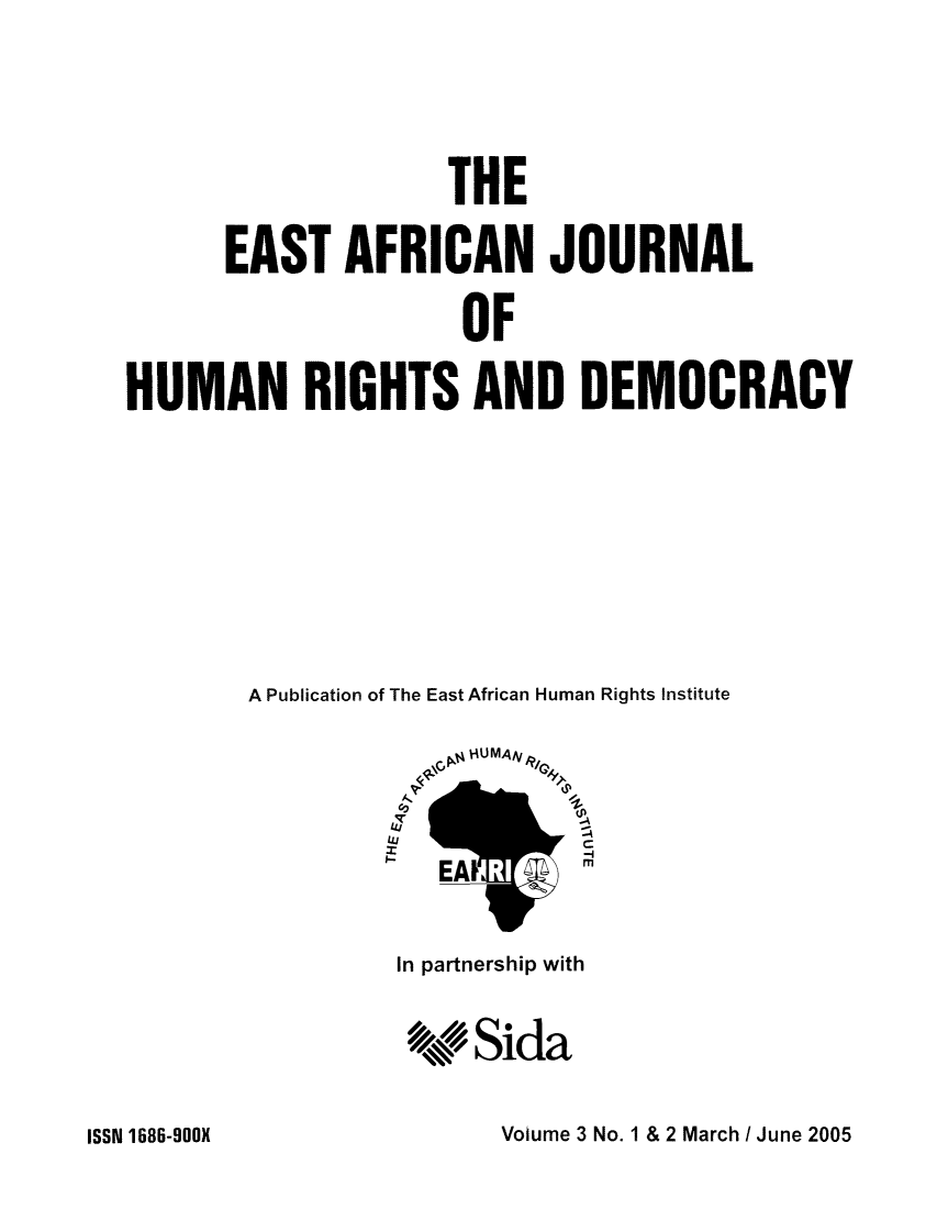 handle is hein.journals/eajhrd3 and id is 1 raw text is: THE