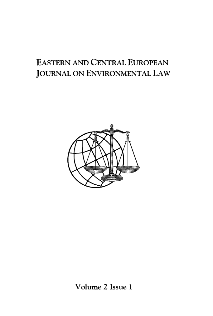 handle is hein.journals/eceujevl2 and id is 1 raw text is: 