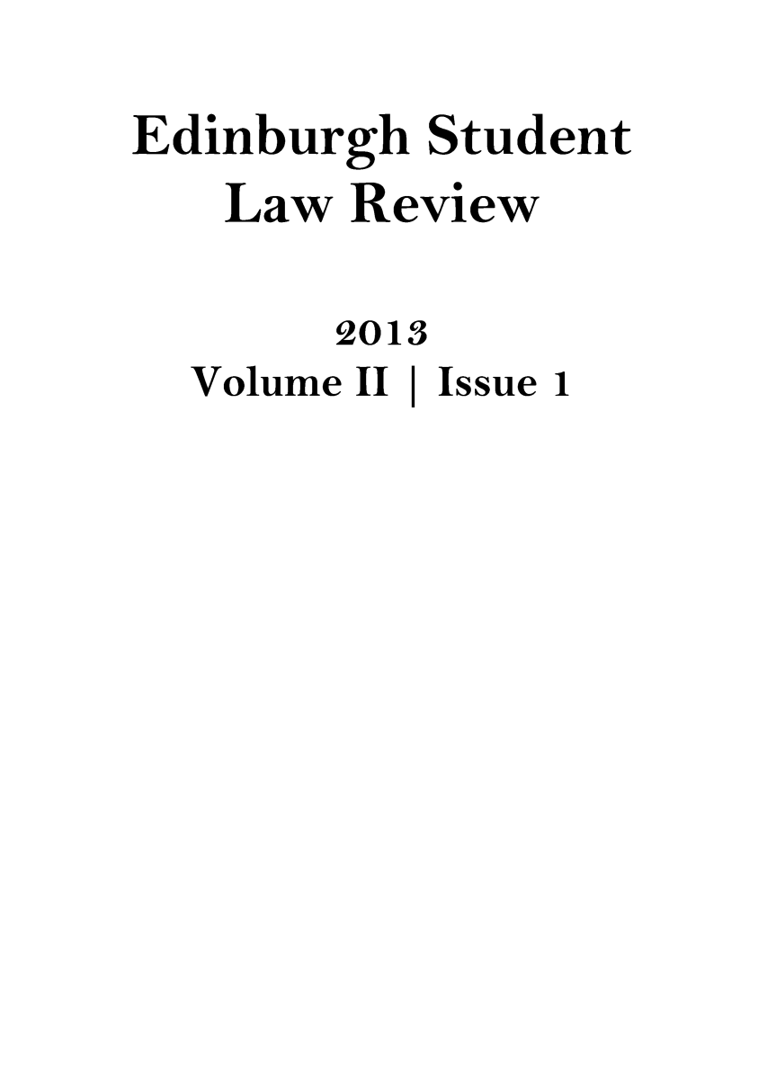handle is hein.journals/edinslr2 and id is 1 raw text is: 