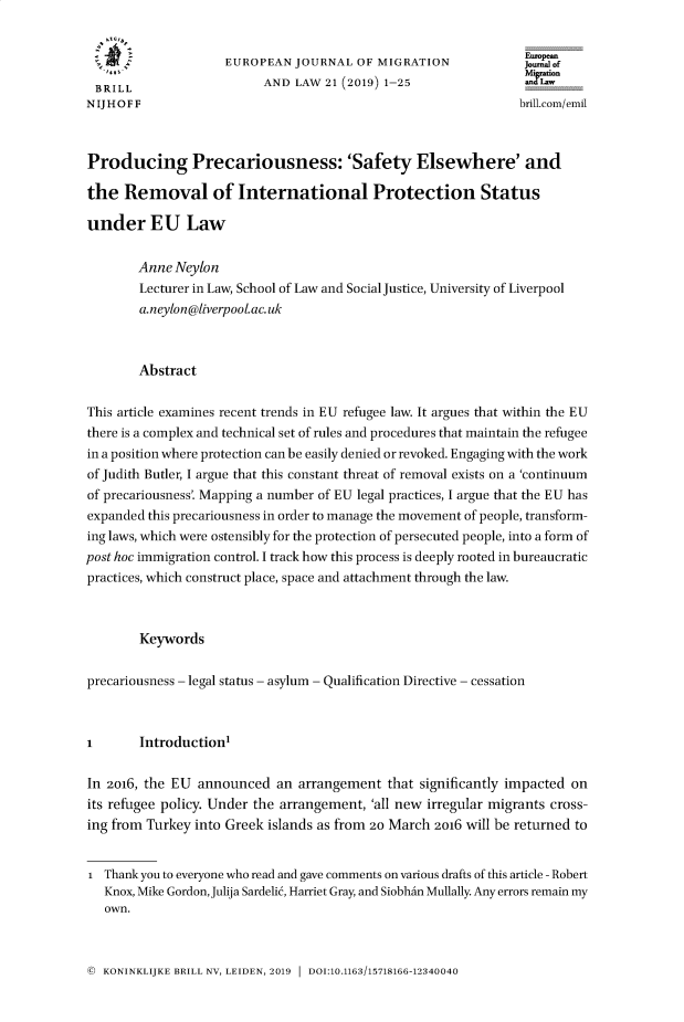handle is hein.journals/ejml21 and id is 1 raw text is: 