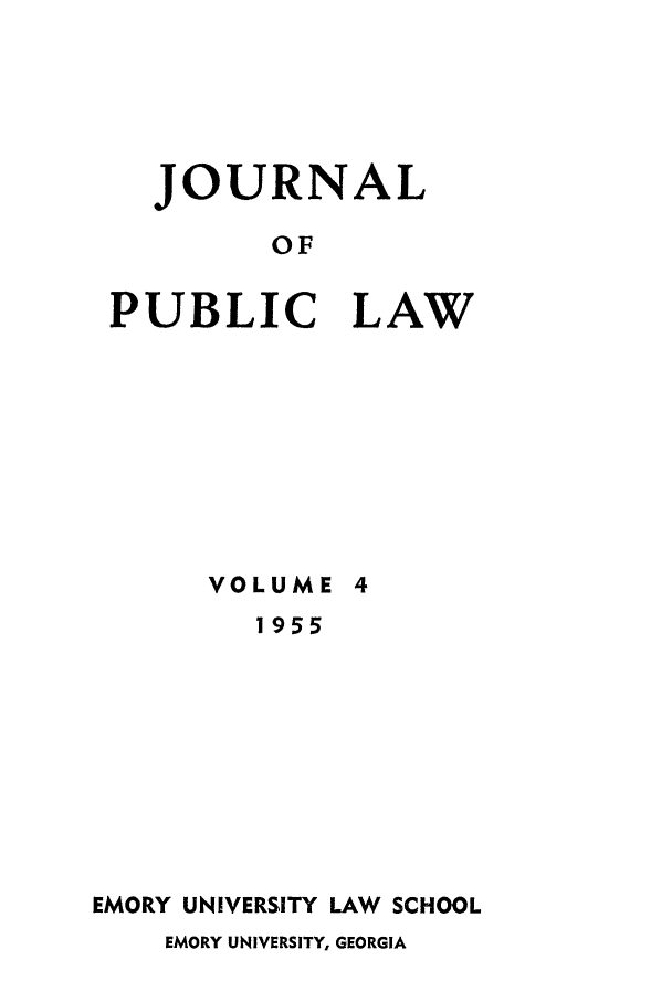 handle is hein.journals/emlj4 and id is 1 raw text is: JOURNAL