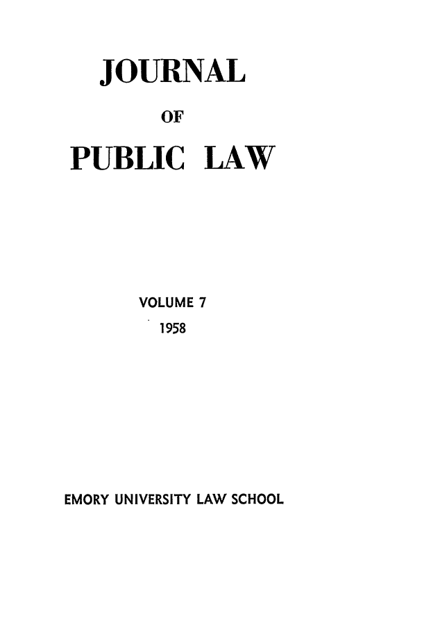 handle is hein.journals/emlj7 and id is 1 raw text is: JOURNAL