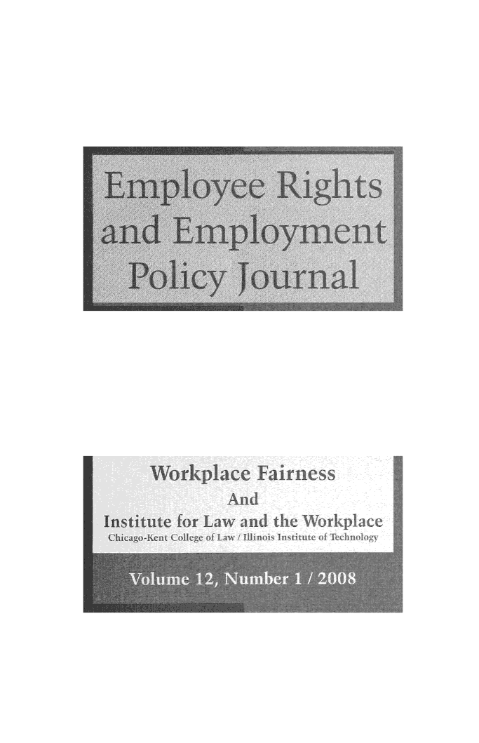 handle is hein.journals/emplrght12 and id is 1 raw text is: 