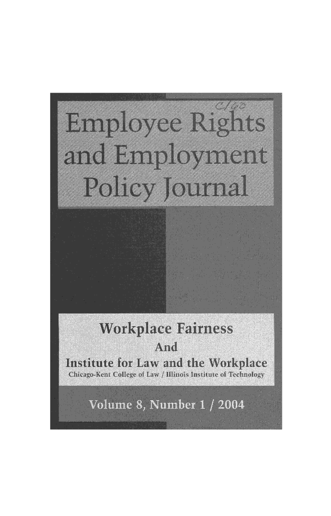 handle is hein.journals/emplrght8 and id is 1 raw text is: 