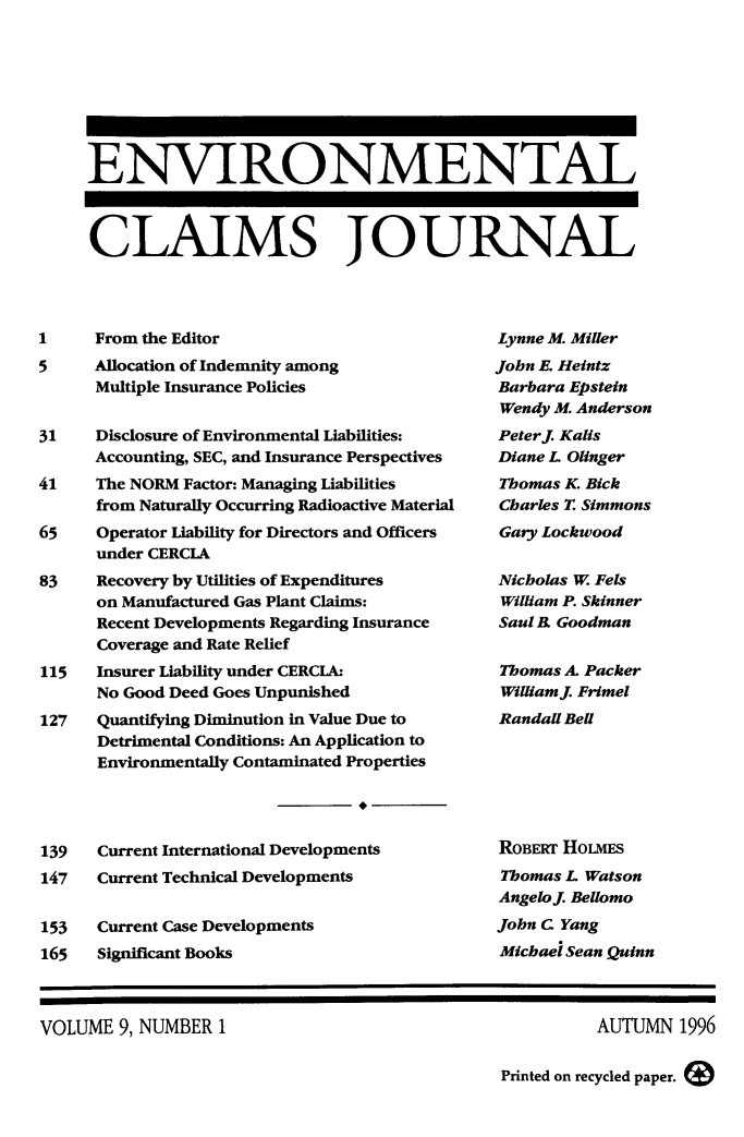 handle is hein.journals/envcl9 and id is 1 raw text is: ENVIRONMENTAL