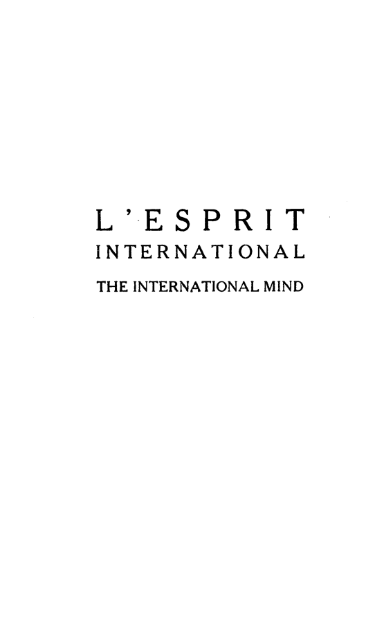 handle is hein.journals/esprit13 and id is 1 raw text is: L' E