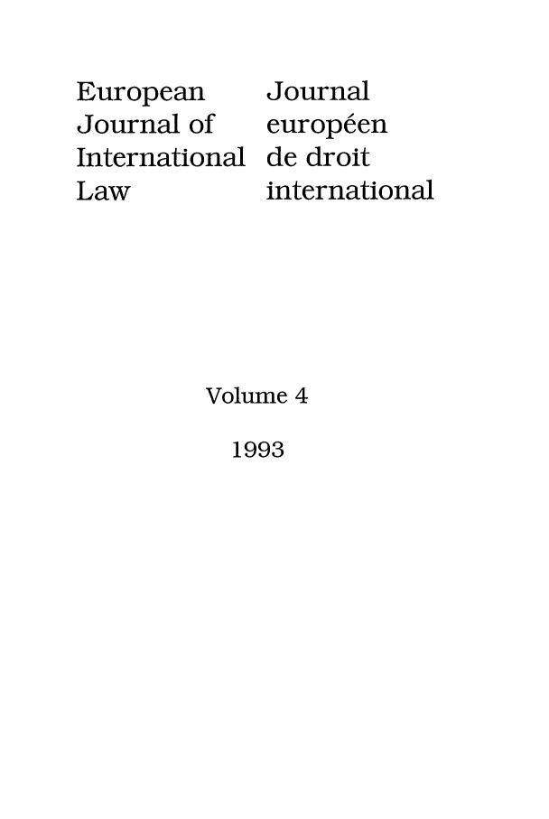 handle is hein.journals/eurint4 and id is 1 raw text is: European