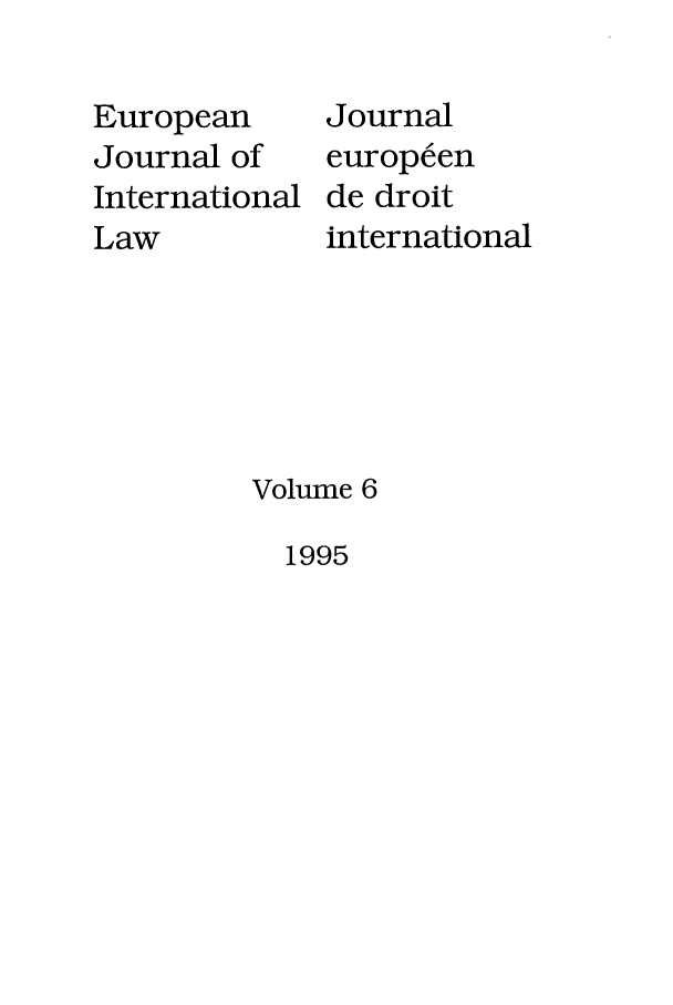 handle is hein.journals/eurint6 and id is 1 raw text is: European
