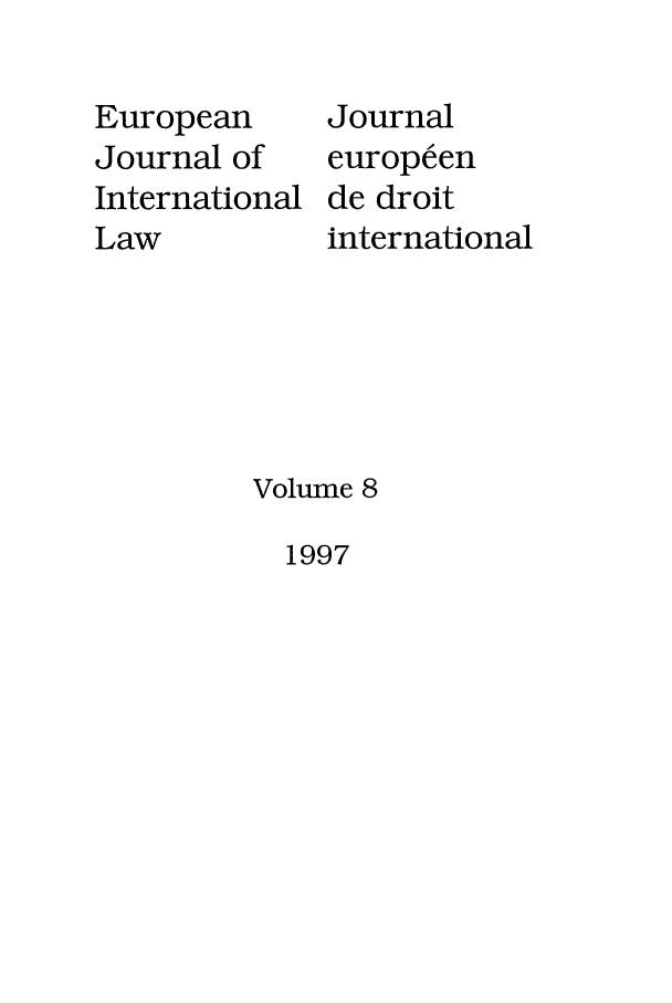 handle is hein.journals/eurint8 and id is 1 raw text is: European
