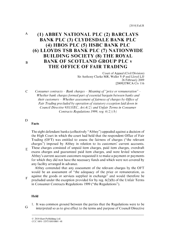 European Law Reports V  14