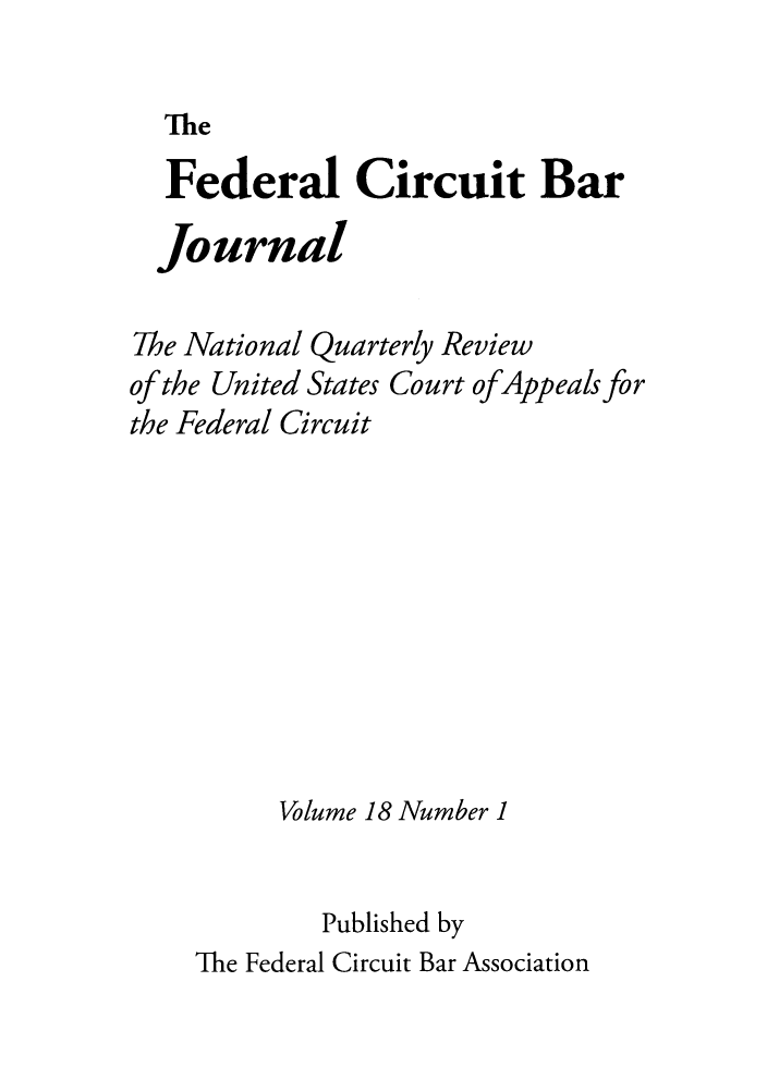 handle is hein.journals/fedcb18 and id is 1 raw text is: The