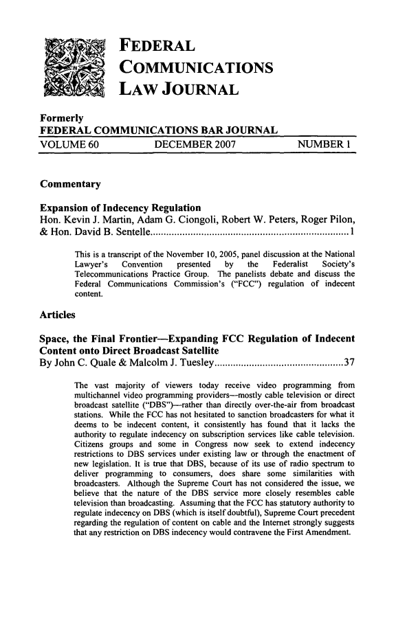 handle is hein.journals/fedcom60 and id is 1 raw text is: '  ..       FEDERAL