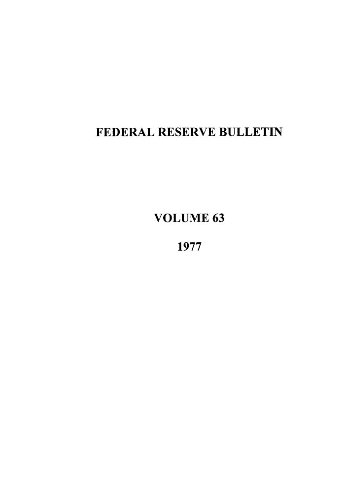 handle is hein.journals/fedred63 and id is 1 raw text is: FEDERAL RESERVE BULLETIN