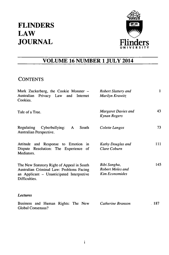 handle is hein.journals/flinlj16 and id is 1 raw text is: 