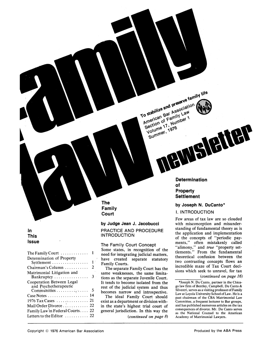 handle is hein.journals/flwnwsltr17 and id is 1 raw text is: Iv