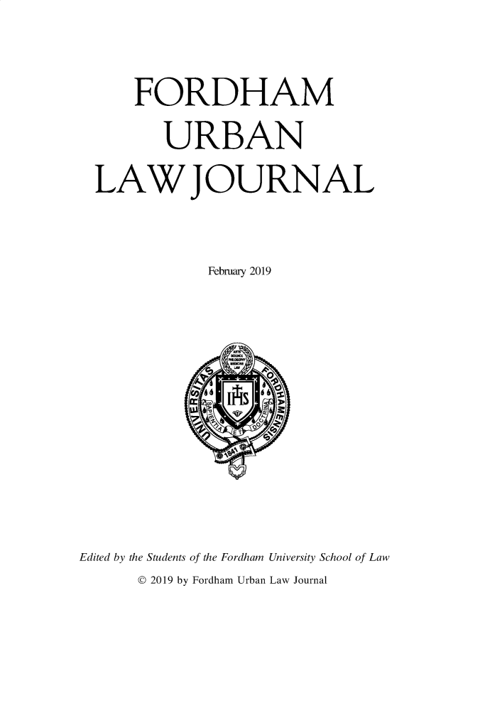 handle is hein.journals/frdurb46 and id is 1 raw text is: 