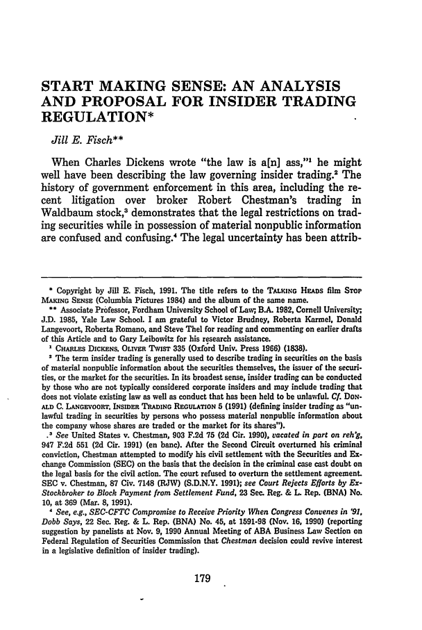 handle is hein.journals/geolr26 and id is 189 raw text is: START MAKING SENSE: AN ANALYSIS
