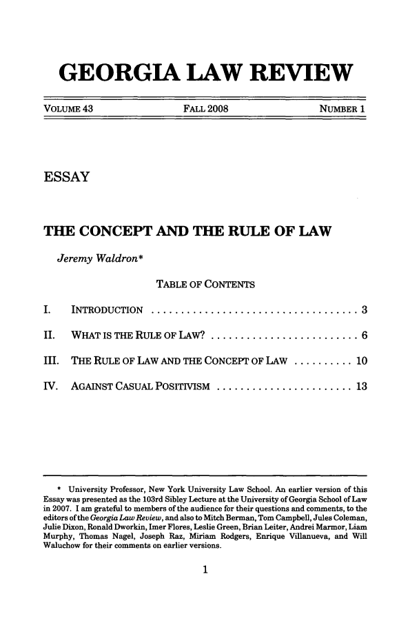 Liberty and the Rule of Law: Winning Essay