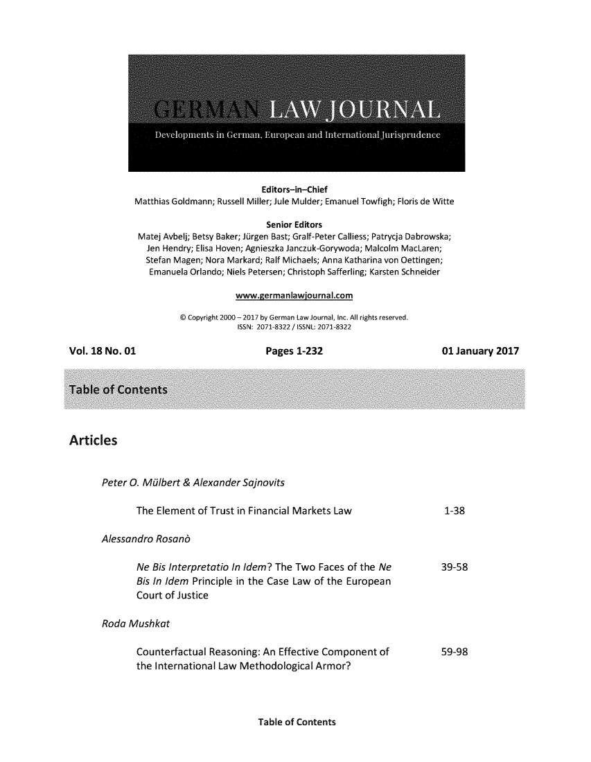 handle is hein.journals/germlajo18 and id is 1 raw text is: 