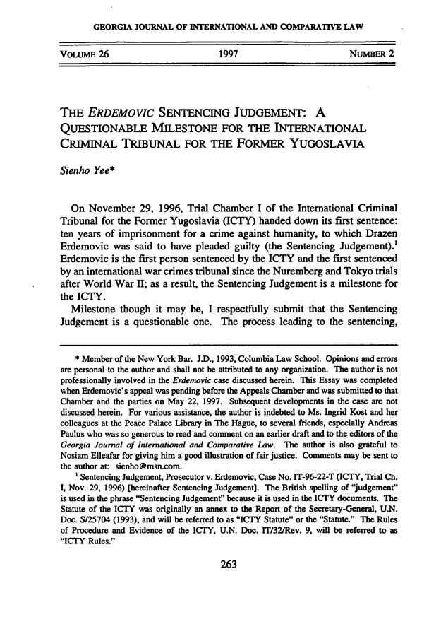 handle is hein.journals/gjicl26 and id is 277 raw text is: GEORGIA JOURNAL OF INTERNATIONAL AND COMPARATIVE LAW