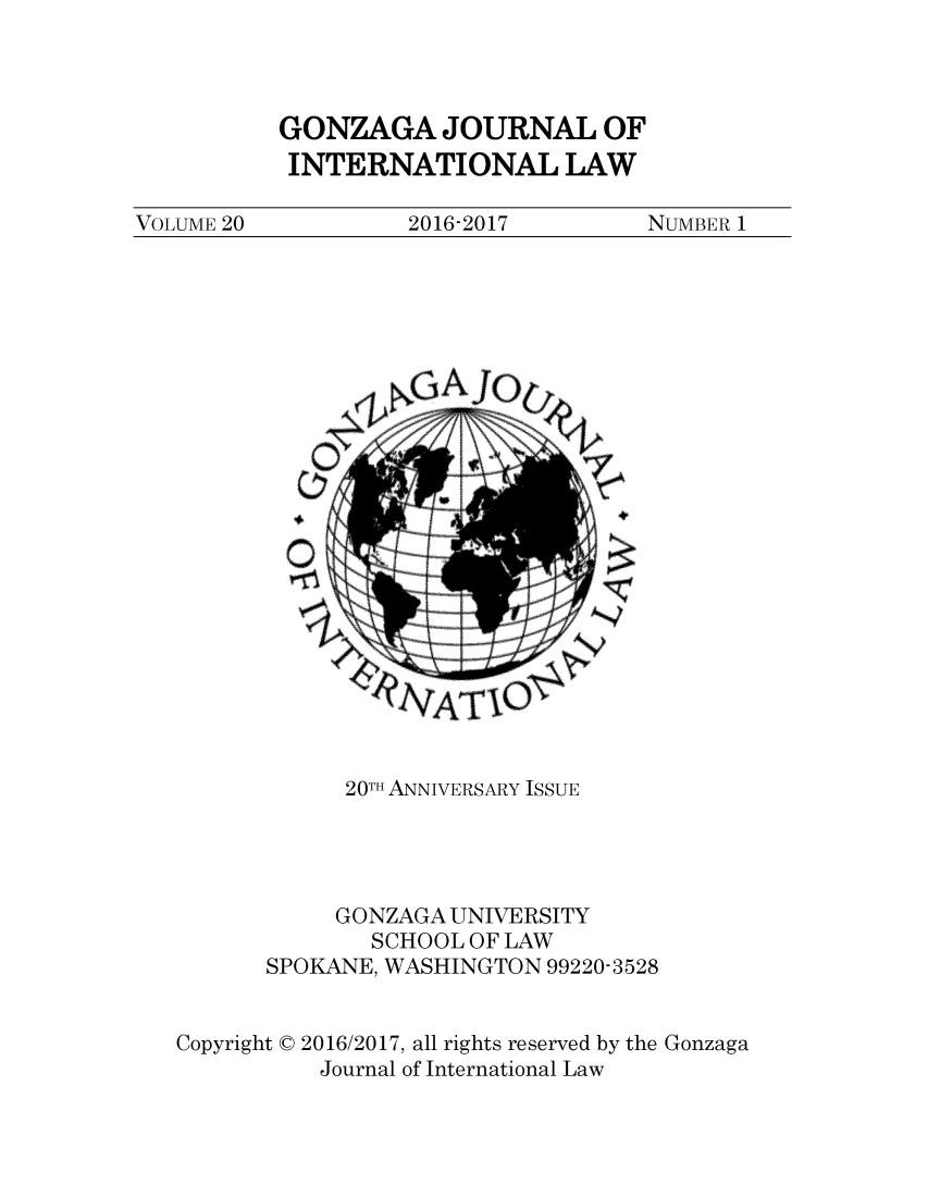 handle is hein.journals/gjil20 and id is 1 raw text is: 