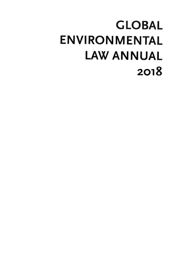 handle is hein.journals/gloenvla26 and id is 1 raw text is: 