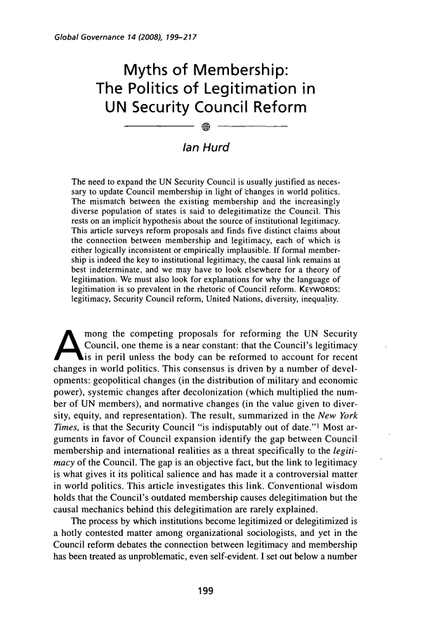 handle is hein.journals/glogo14 and id is 207 raw text is: Global Governance 14 (2008), 199-217