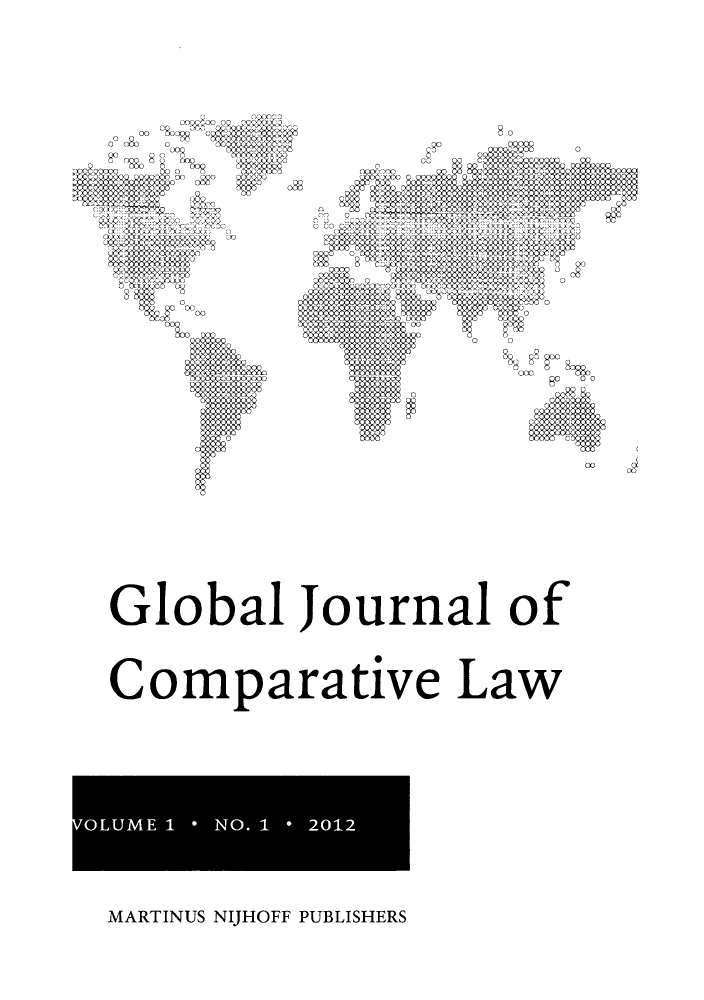 handle is hein.journals/glojoucl1 and id is 1 raw text is: B