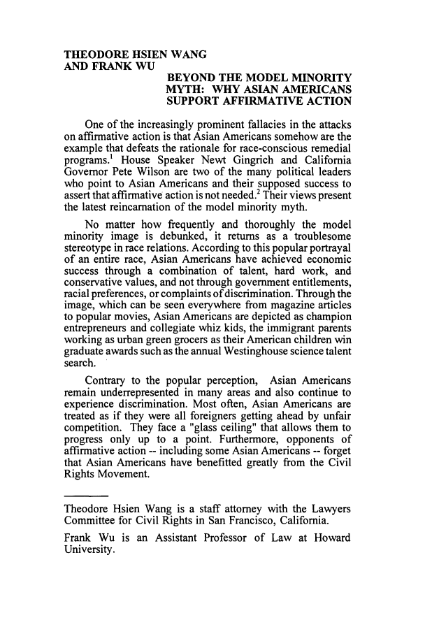 handle is hein.journals/guild53 and id is 46 raw text is: THEODORE HSIEN WANG