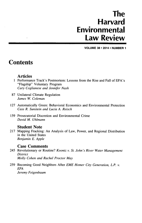 handle is hein.journals/helr38 and id is 1 raw text is: The