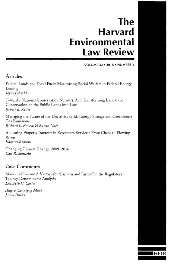 handle is hein.journals/helr42 and id is 1 raw text is: 