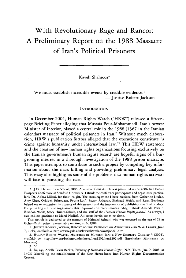 handle is hein.journals/hhrj20 and id is 229 raw text is: With Revolutionary Rage and Rancor: