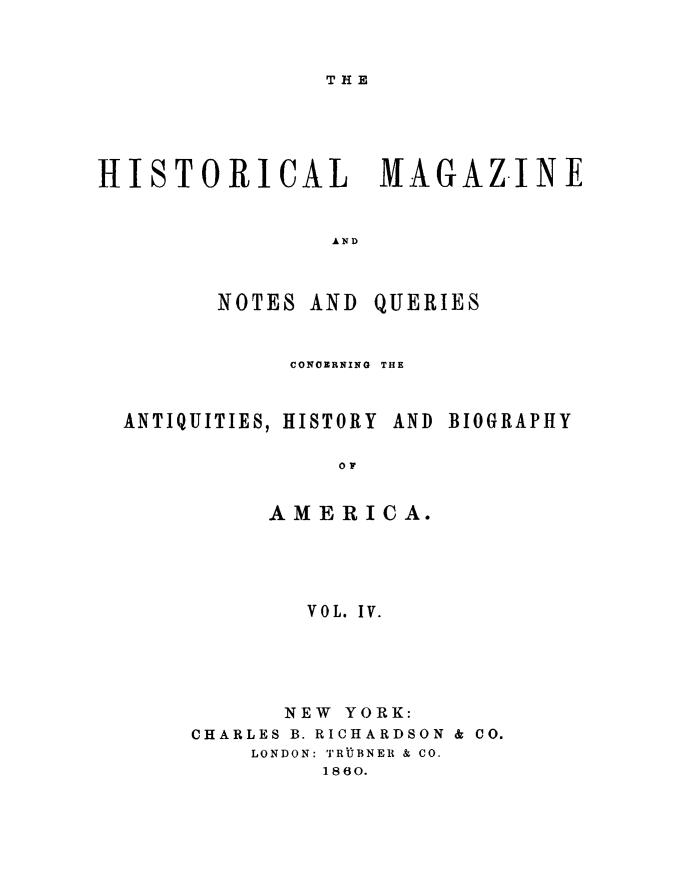 handle is hein.journals/hismagno4 and id is 1 raw text is: THE