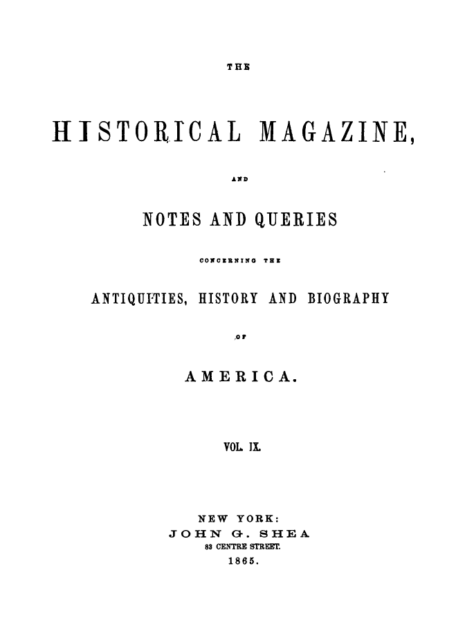 handle is hein.journals/hismagno9 and id is 1 raw text is: THE