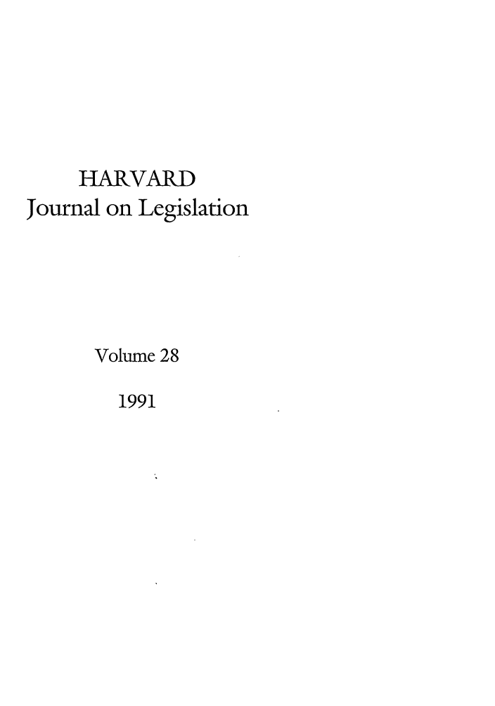 handle is hein.journals/hjl28 and id is 1 raw text is: HARVARD