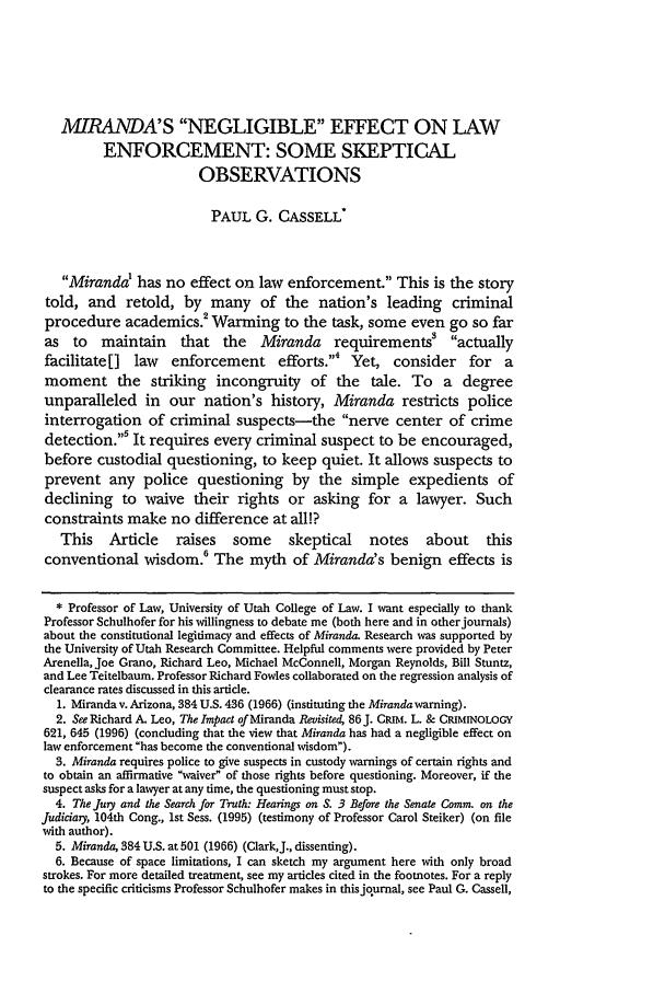 Facts and Case Summary - Miranda v. Arizona