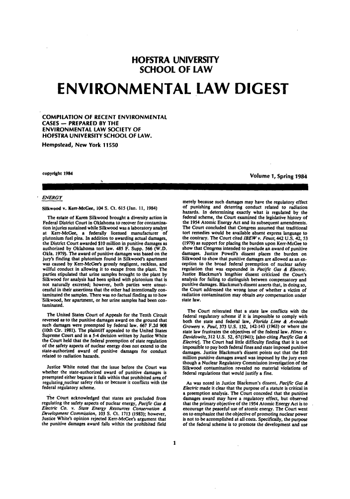 handle is hein.journals/hofe1 and id is 1 raw text is: HOFSTRA UNIVERSITY