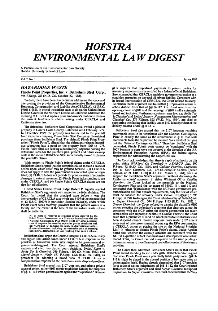 handle is hein.journals/hofe2 and id is 1 raw text is: HOFSTRA