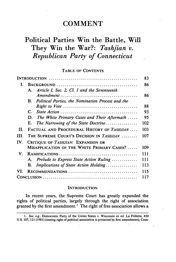 handle is hein.journals/howlj32 and id is 95 raw text is: COMMENT