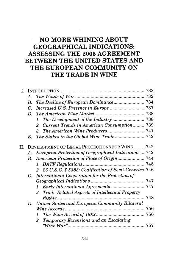 handle is hein.journals/hujil29 and id is 737 raw text is: NO MORE WHINING ABOUT
