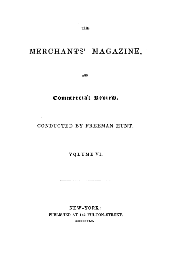 handle is hein.journals/huntsme6 and id is 1 raw text is: THE