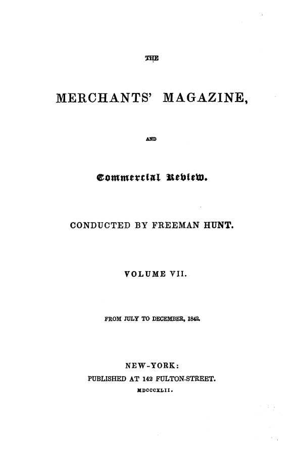 handle is hein.journals/huntsme7 and id is 1 raw text is: THE